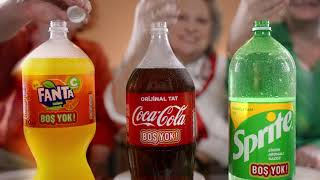 2.5L Coca-Cola, Fanta ve Sprite Beyaz Kapaklarında Boş YOK!