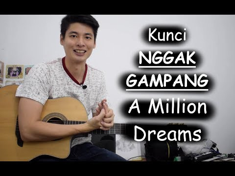 Kunci Variasi (A Million Dreams - The Greatest Showman)