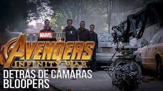 Detrás de cámaras de Los vengadores Infinity War (Avengers Behind the scenes)