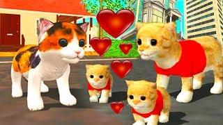 Симулятор котенка ПРИКЛЮЧЕНИЕ МАЛЕНЬКОГО КОТИКА НОВАЯ ЛОКАЦИЯ мультик для детей #УШАСТИК КИДС