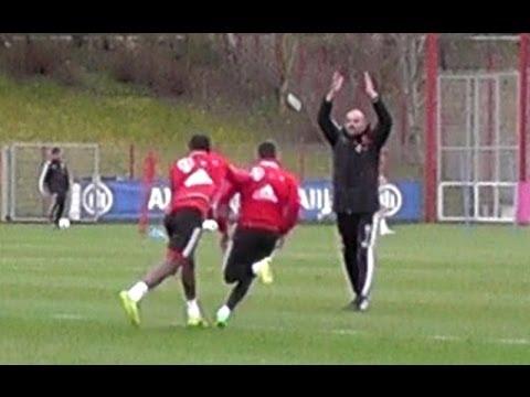 Funny Ribery vs Alaba makes Pep Guardiola angry - Alaba macht Guardiola wütend - FC Bayern Munich
