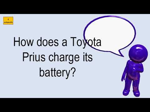 How Does A Toyota Prius Charge Its Battery