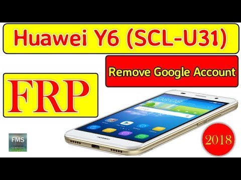 Huawei Y6 SCL U31 Remove Google Account FRP Lock 100% Safe Method