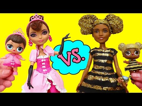 SWTAD LOL Families ! Fancy vs. Queen Bee Moms | Toys and Dolls Fun Pretend Play for Kids