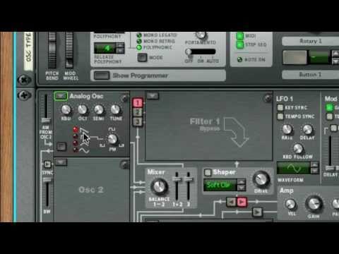 52 Reason / Record Tips - Week 49: Thor Oscillator Types