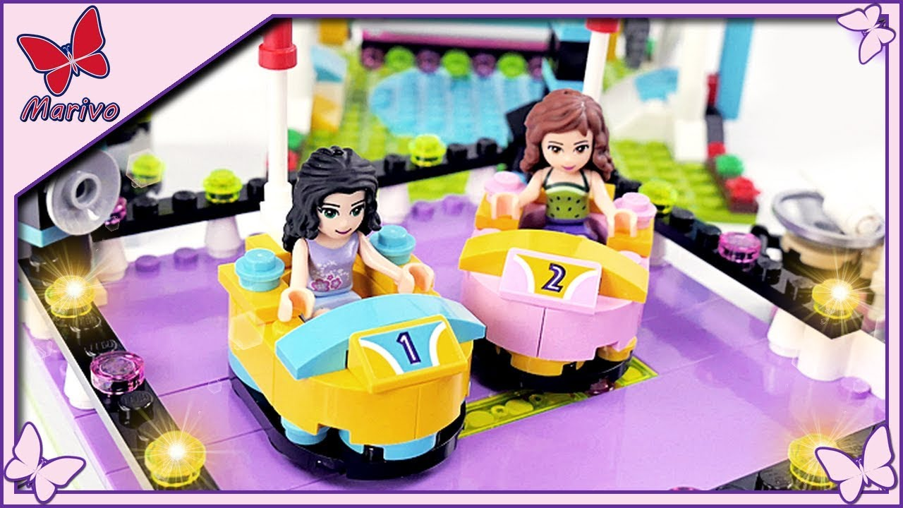 Emma And Olivias Adventures At The Carnival Lego Friends Story