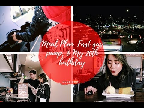 MEAL PLAN, FIRST GAS PUMP, & MY 20TH BIRTHDAY! | MAHIRA ADIPURA VLOG