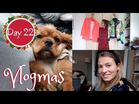 DRIVING HOME FOR CHRISTMAS & MY DISASTROUS CHILDHOOD WARDROBE | Vlogmas Day 22