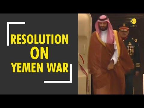 U.S Senate Resolution on Yemen War