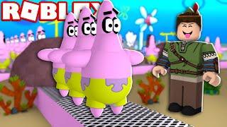 FÁBRICA DO PATRICK NO ROBLOX!! (Spongebob Tycoon)