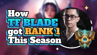 How TF Blade got RANK 1 Challenger This Season