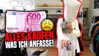ALLES kaufen, was ich BLIND anfasse! 😩💶 (über 500€)
