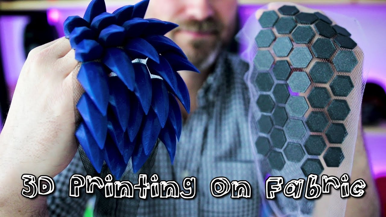How to 3D Print on Fabric for Cosplay | How To