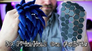 How to 3D Print on Fabric for Cosplay | How To | 3D Printing on Fabric