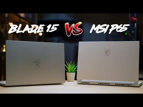 Razer Blade 15 vs MSI P65 Creator - Which Laptop is Better!?