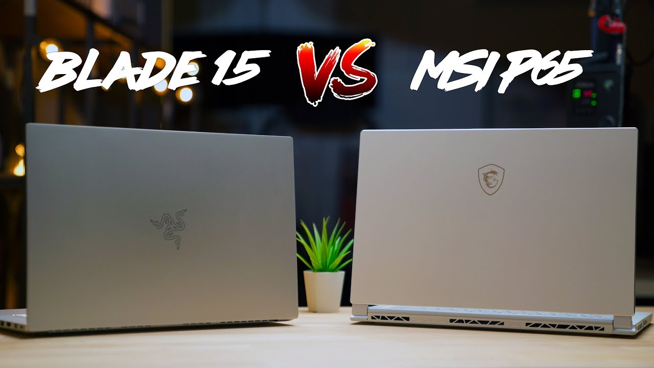 Razer Blade 15 vs MSI P65 Creator – Which Laptop is Better