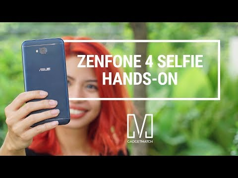 Asus Zenfone 4 Selfie Unboxing and Hands-On