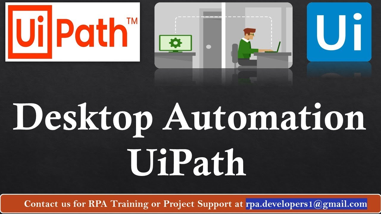Desktop Automation by Using Uipath Studio | Uipath Tutorial For Beginners