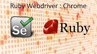 Selenium - Ruby Webdriver : Chrome