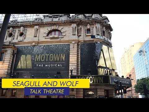 Backstage at Motown the Musical w/ Ashley Samuels - Seagull and Wolf Talk Theatre Episode 3