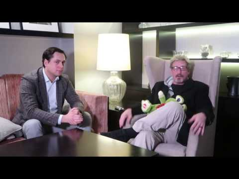 Cybersecurity legend John McAfee | about blockchain and security  | by Paul Tanasyuk