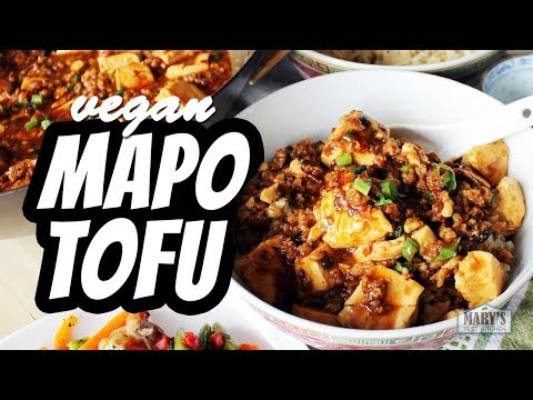 VEGAN MAPO TOFU RECIPE | Mary's Test Kitchen