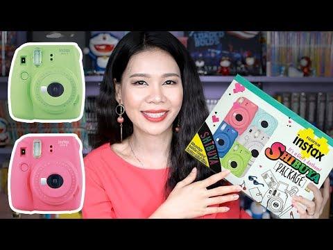 Mở Hộp + Review Máy Chụp ảnh Lấy Liền Fujifilm Instax Mini 9 Shibuya [Máy ảnh Cho Phái đẹp]