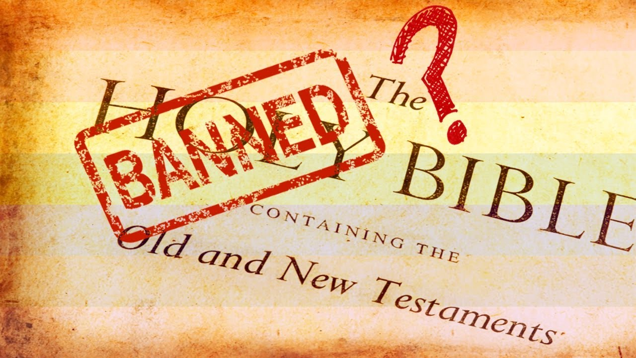 Image result for banning of the bible