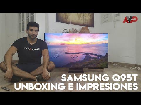 Samsung QLED Q95T: Unboxing, configuración y primeras impresiones