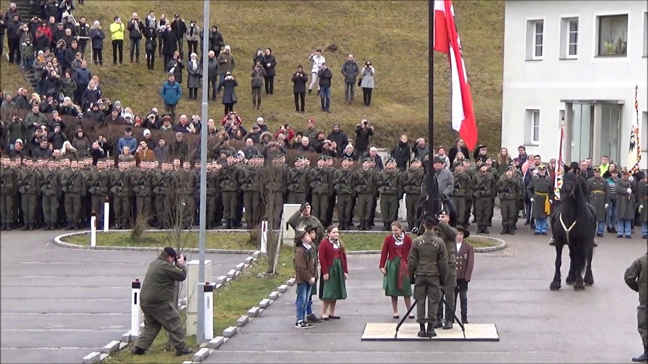 Bundesheer Angelobung In Stadl Paura Am 02022018 470 Soldaten Des