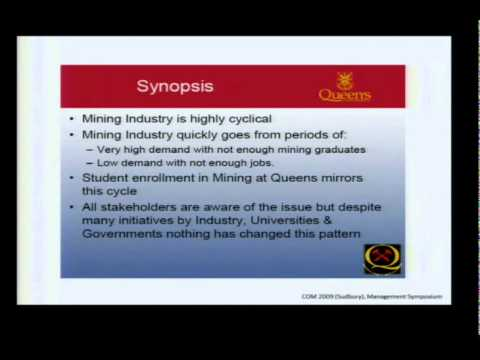 Mining and Metallurgy in Canada, Nathan Stubina (COM 2011)