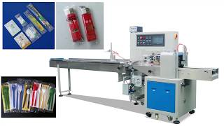 Automatic packaging machine for Toothbrush, Soap, Toothpaste and other Disposable products