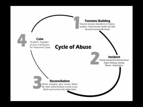 emotional cycle of abuse diagram wiring light youtube