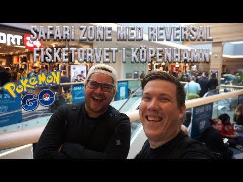 SAFARI ZONE PÅ FISKETORVET (KÖPENHAMN) | TRÄFFAR REVERSAL | EPISKA SPAWNS OCH EVENT-ÄGG!