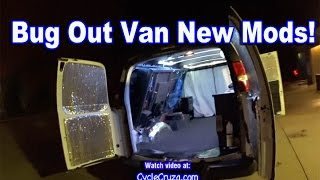 Bug Out Van - New Mods & Future Plans