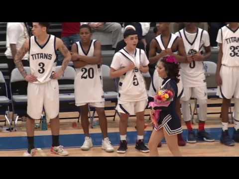 Boys' Varsity Basketball - Lorain vs. Cleveland Hts. 2-24-17