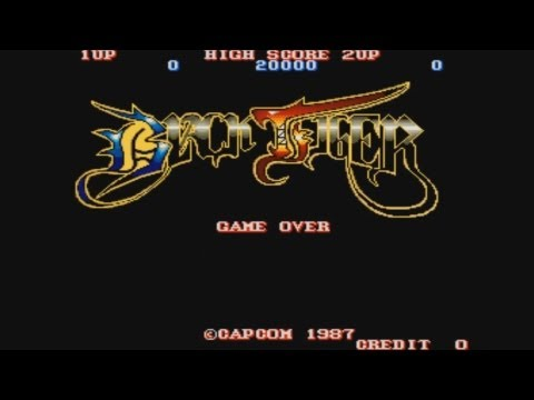 Black Tiger Mame Arcade One Credit