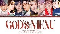 "Stray Kids ""God's Menu (神메뉴)"" (Color Coded Lyrics Eng/Rom/Han/가사)"