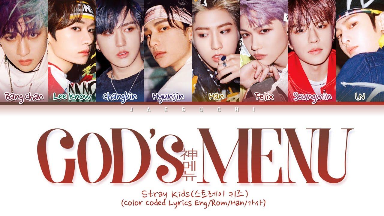 "Download Stray Kids ""God's Menu (神메뉴)"" (Color Coded Lyrics Eng/Rom/Han/가사)"