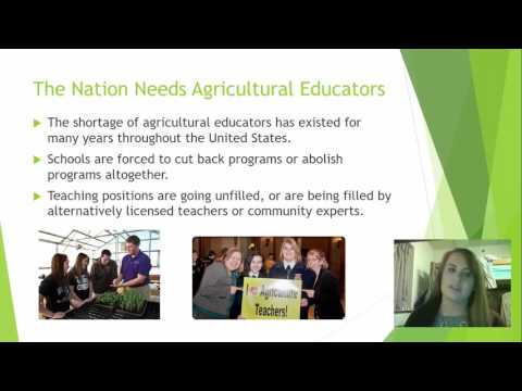 Why Agricultural Education is Important