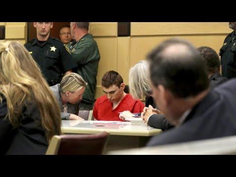 Accused Florida school gunman appears in court