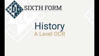 A Level History Introduction PP