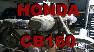 1966 Honda CB160 Runs After Over 30 Years of Sitting