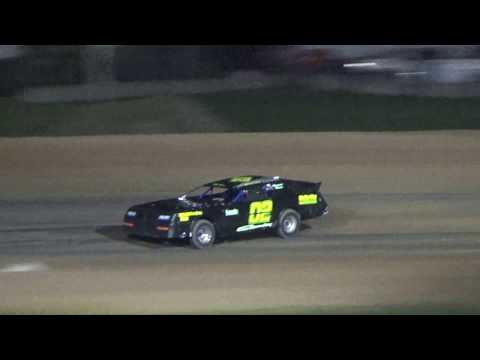 Street Stock Heat Race #3 at Great Lakes Nationals, Crystal Motor Speedway, 09-17-16