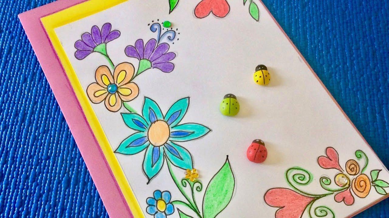 Самодельные свадьба, открытка для мамы на день рождения своими нарисовать