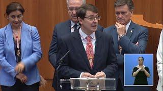 Mañueco promete ser leal con el Gobierno de España