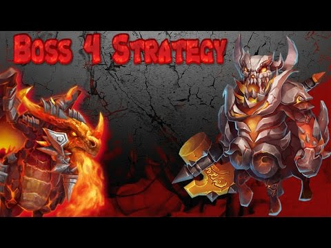 Easy Boss 4 Strategy Castle Clash
