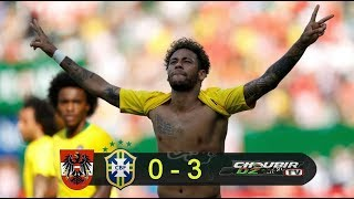 Austria Vs Brazil 0-3  10/06/2018 HD