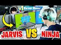 Ninja Vs Faze Jarvis Fortnite 1v1 Face To Face