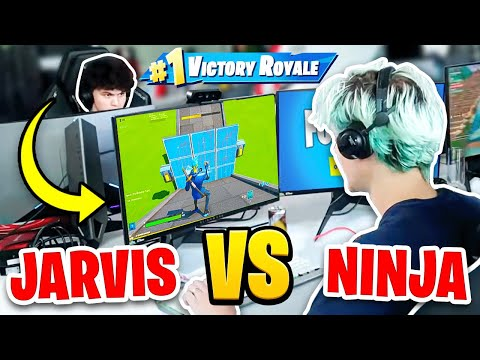Ninja Vs FaZe Jarvis (Fortnite 1v1 FACE To FACE)